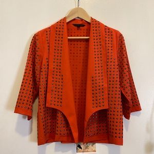 Blaque Label coral studded jacket, small
